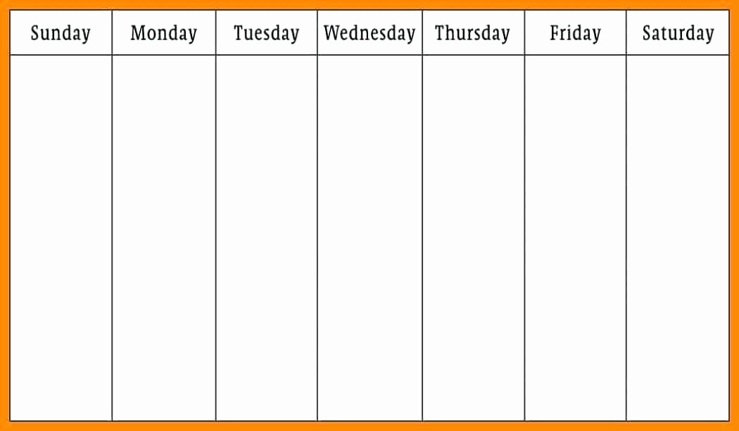 2 Week Schedule Template Luxury Free Printable 2 Week Calendar – Fujibell