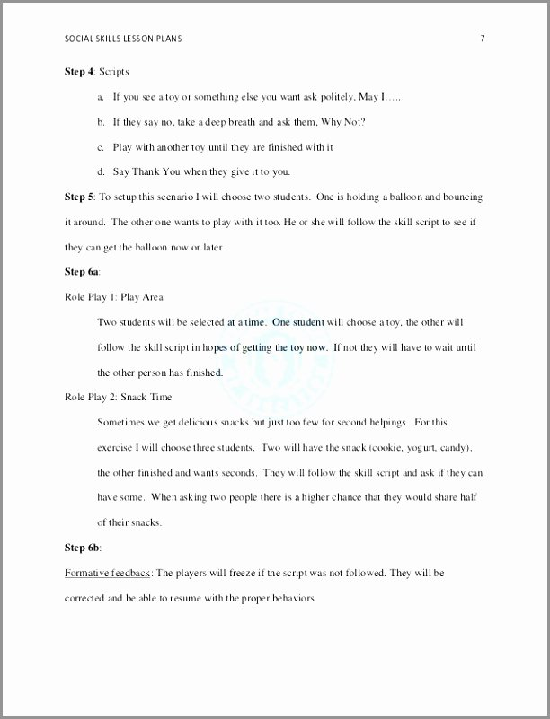 5 Step Lesson Plan Template Fresh 6 Team Charter Template Word Aetrp