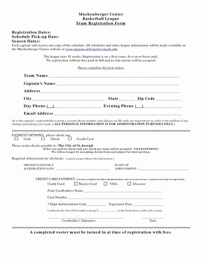 5k Race Registration form Template Awesome 5k Registration form Template Templates Resume