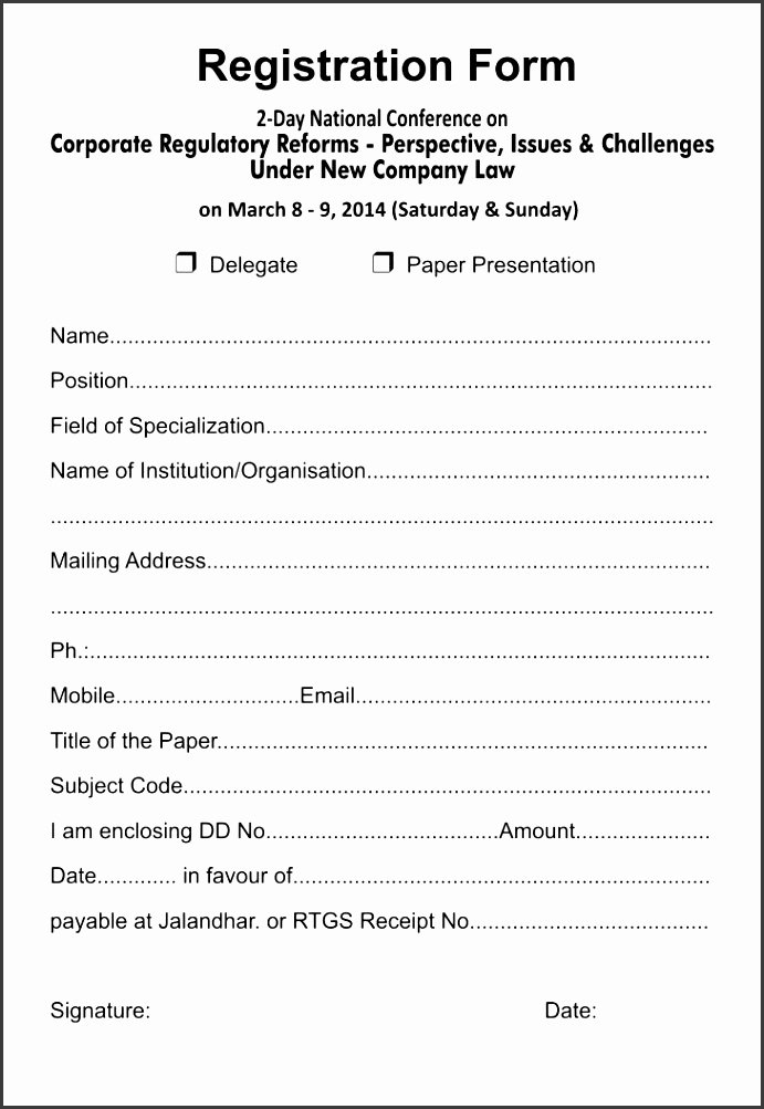 5k Race Registration form Template Best Of 6 5k Registration form Template Sampletemplatess