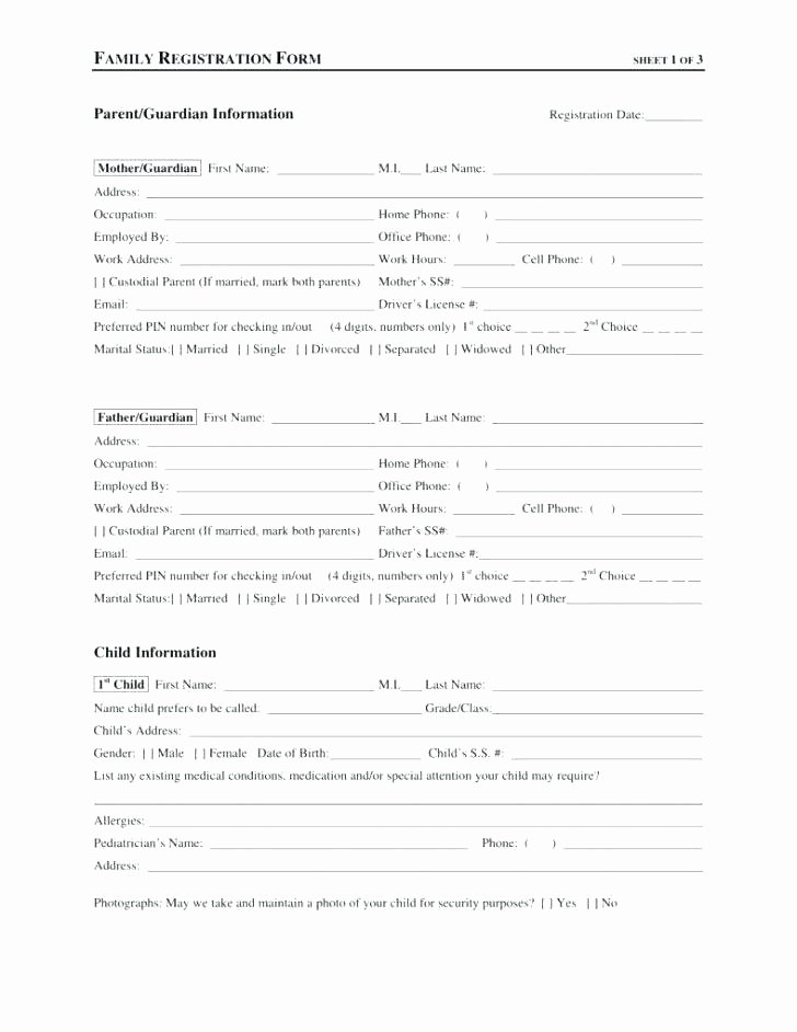 5k Registration form Template Fresh 5k Registration form Waiver