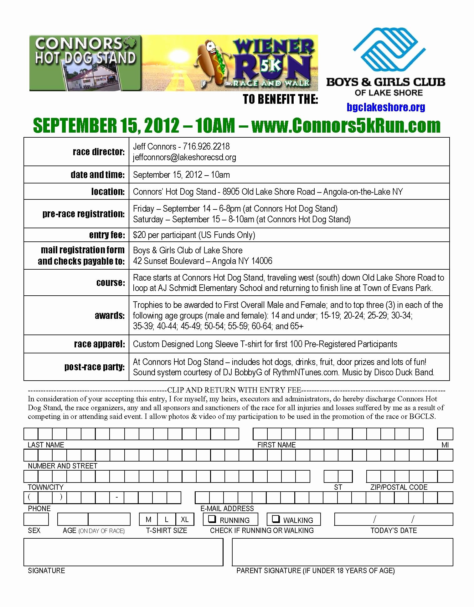 5k Registration form Template Unique 5k Registration forms Ten Things that You Never Expect