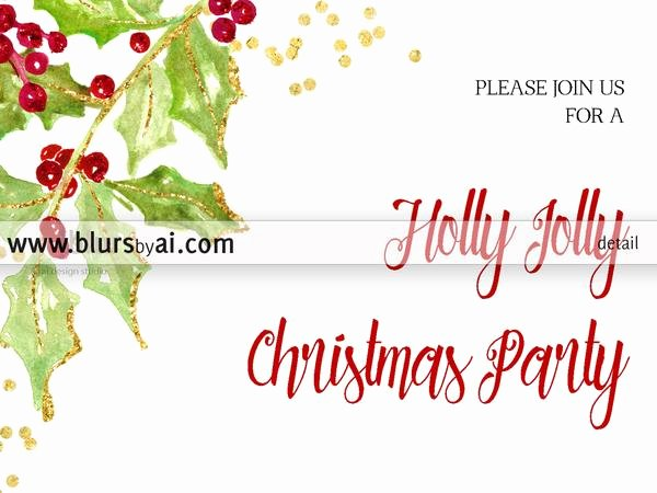 5x7 Invitation Template Word Inspirational Printable Christmas Party Invitation Template for Word In