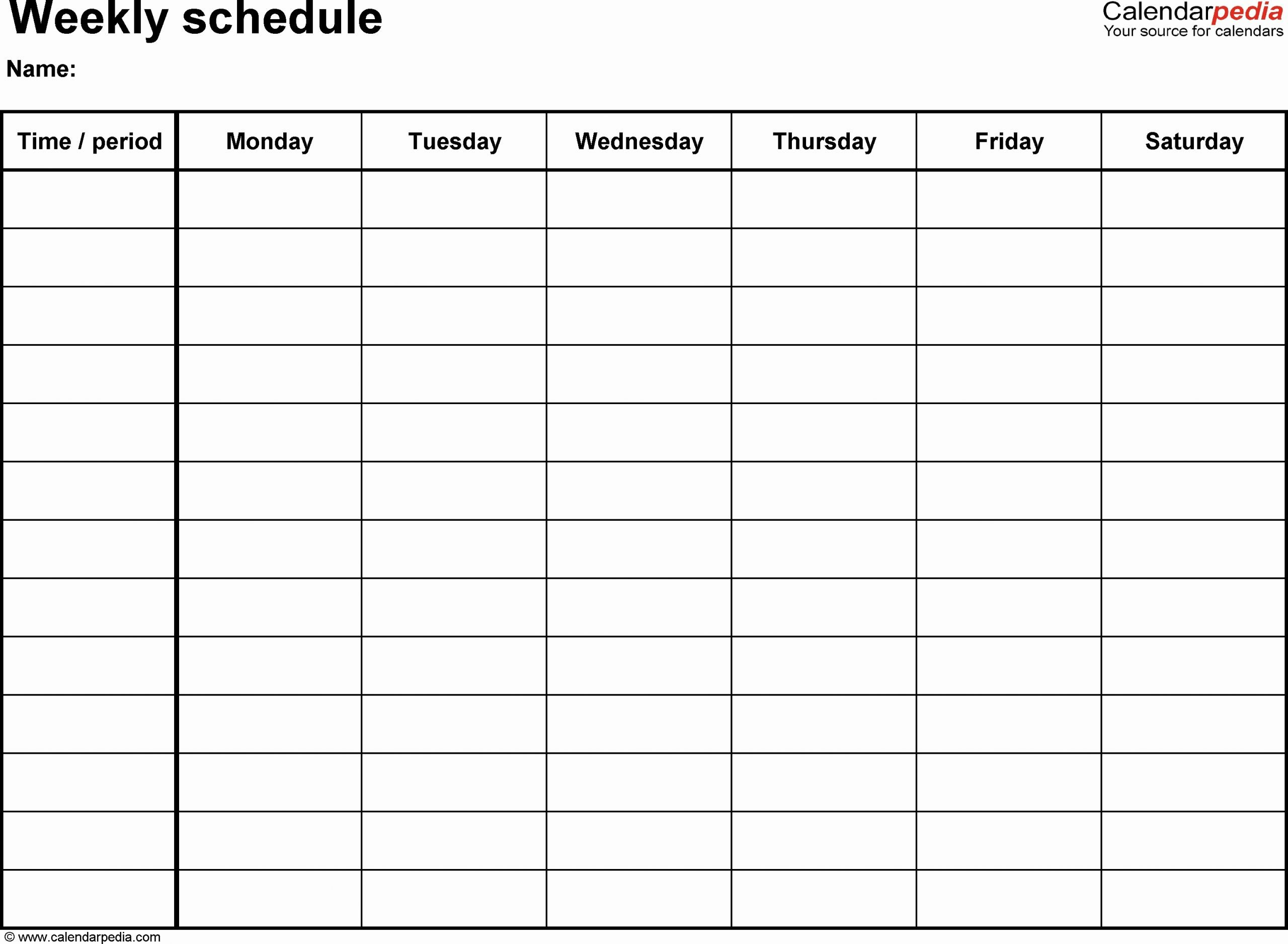 7 Day Week Schedule Template Inspirational May 2018 – Page 4 – Template Calendar Design