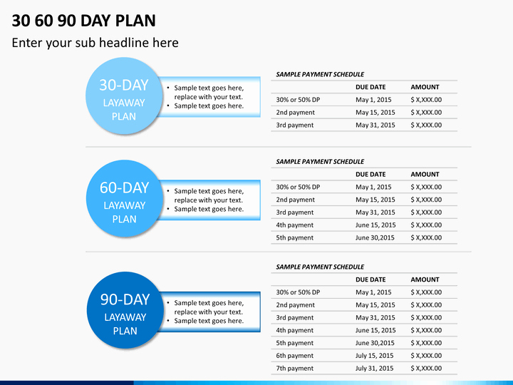 90 Day Planner Template Best Of 30 60 90 Day Plan Powerpoint Template