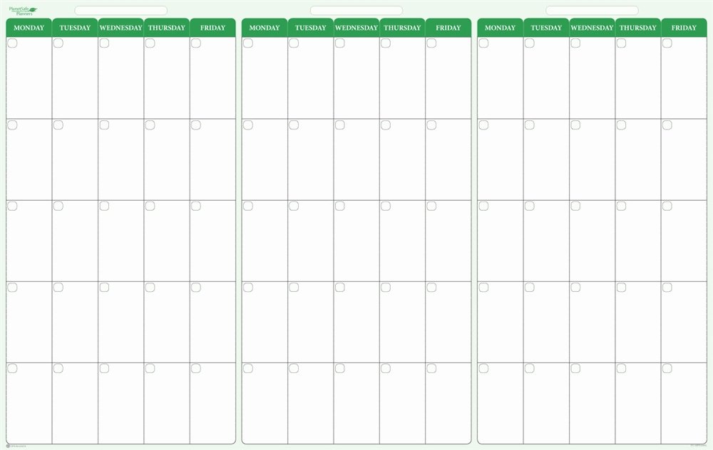 90 Day Planner Template Luxury 90 Day 3 Month Dry Erase Calendar 38 X 58