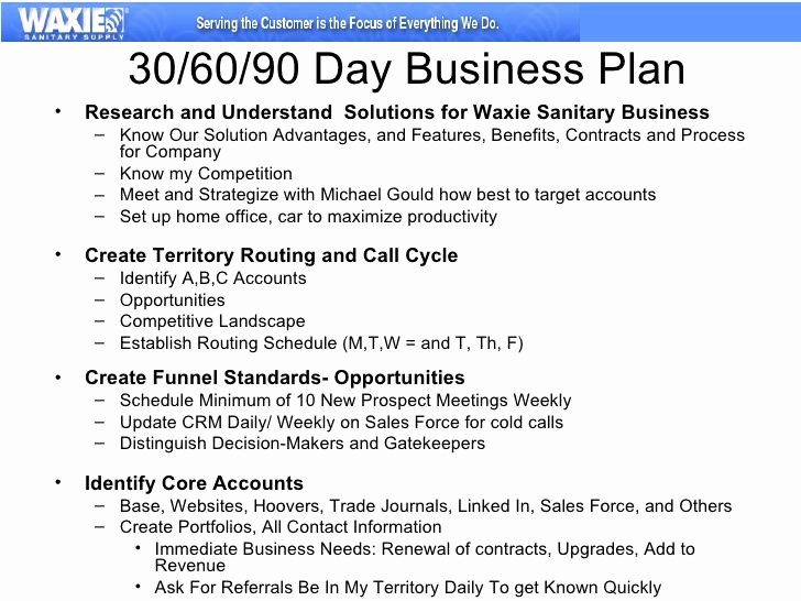 90 Day Work Plan Template Best Of Build A 30 60 90 Day Plan Work
