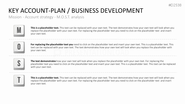 Account Plan Template Ppt Best Of Key Account Management Powerpoint Template