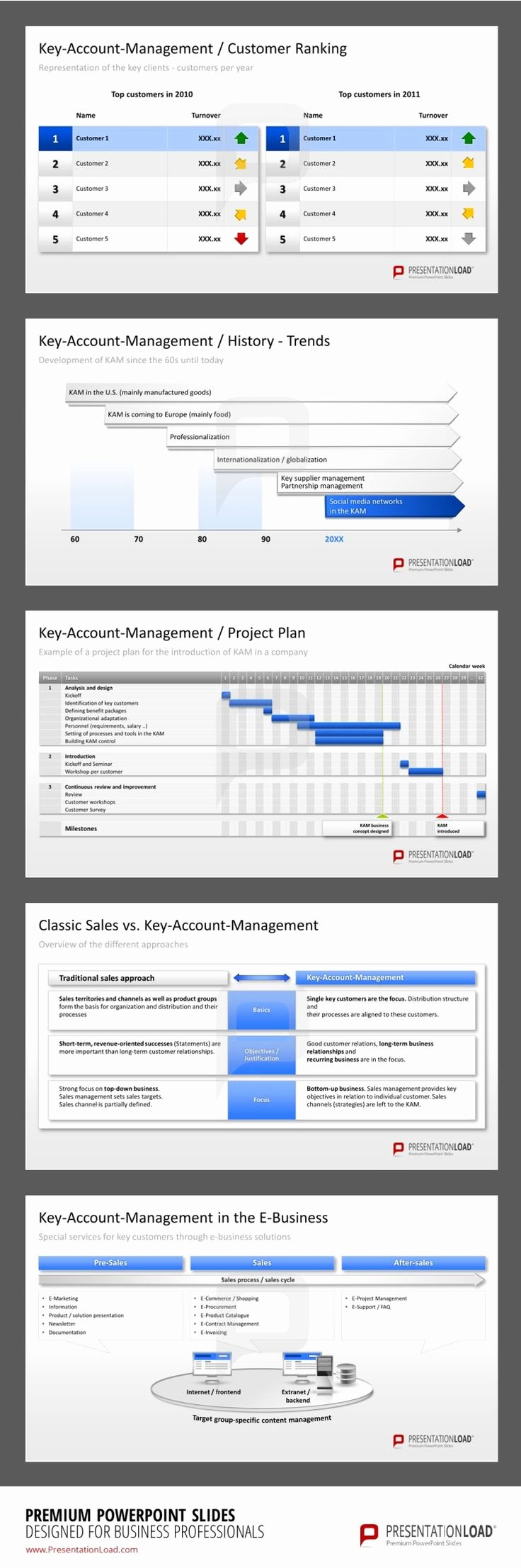 Account Plan Template Ppt Lovely 31 Besten Key Account Management Powerpoint Templates