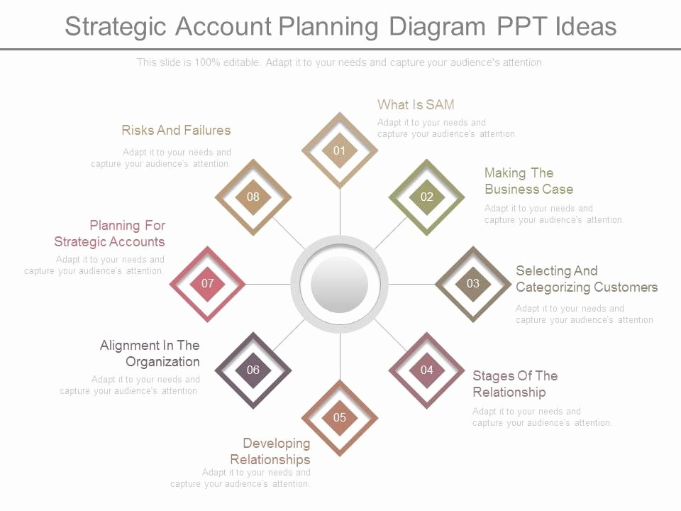 Account Plan Template Ppt Unique App Strategic Account Planning Diagram Ppt Ideas