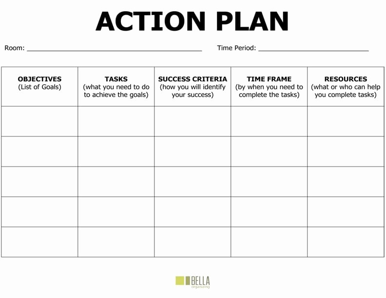 Action Plan Template Excel Inspirational top 6 Free Action Plan Templates Word Templates Excel
