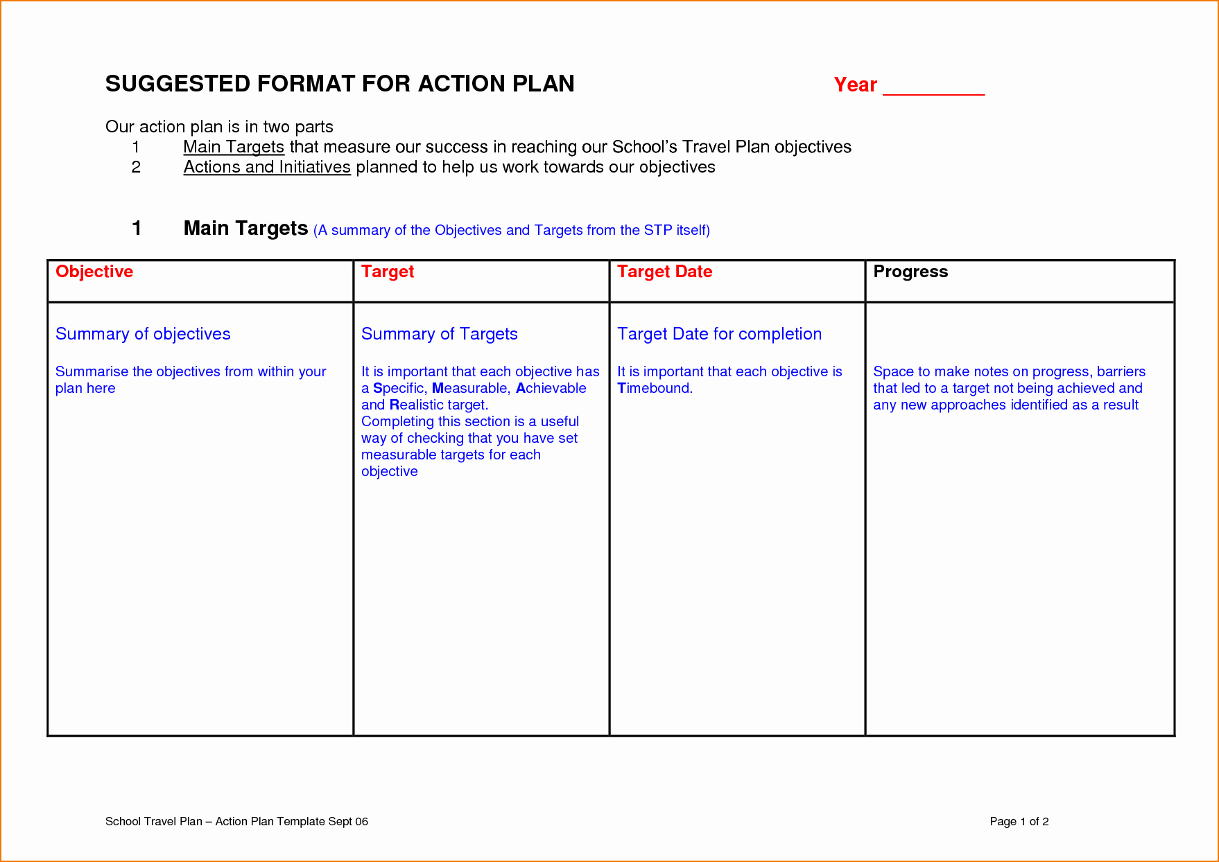 Action Plan Template for Students Awesome Example Of A Teacher Action Plan