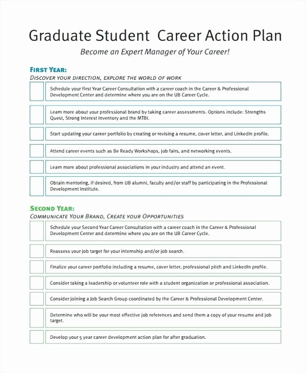 Action Plan Template for Students Awesome Student Action Plan Template – Nlpcoaching