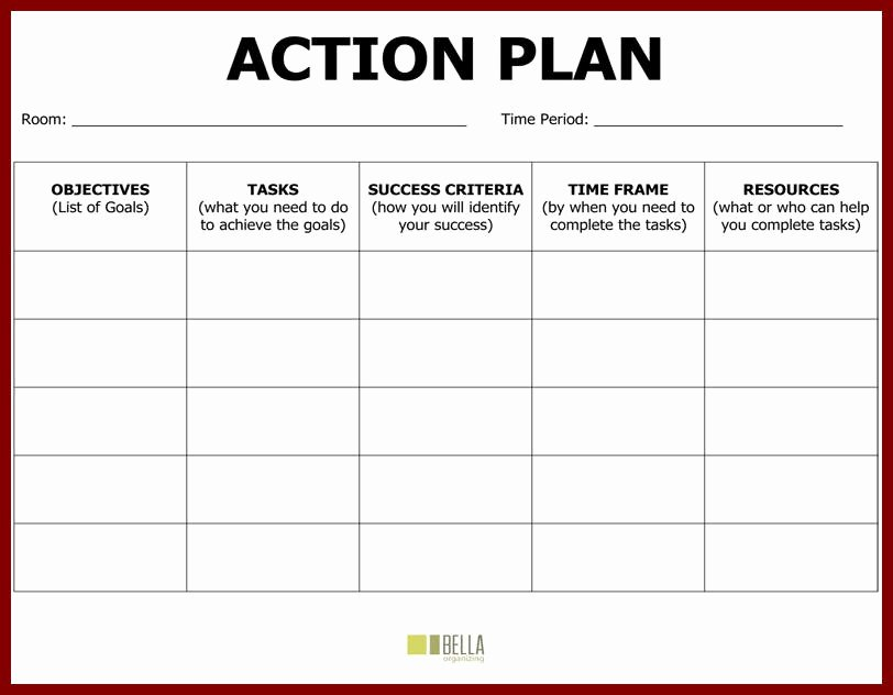 Action Plan Template for Students Best Of Plan Action Template