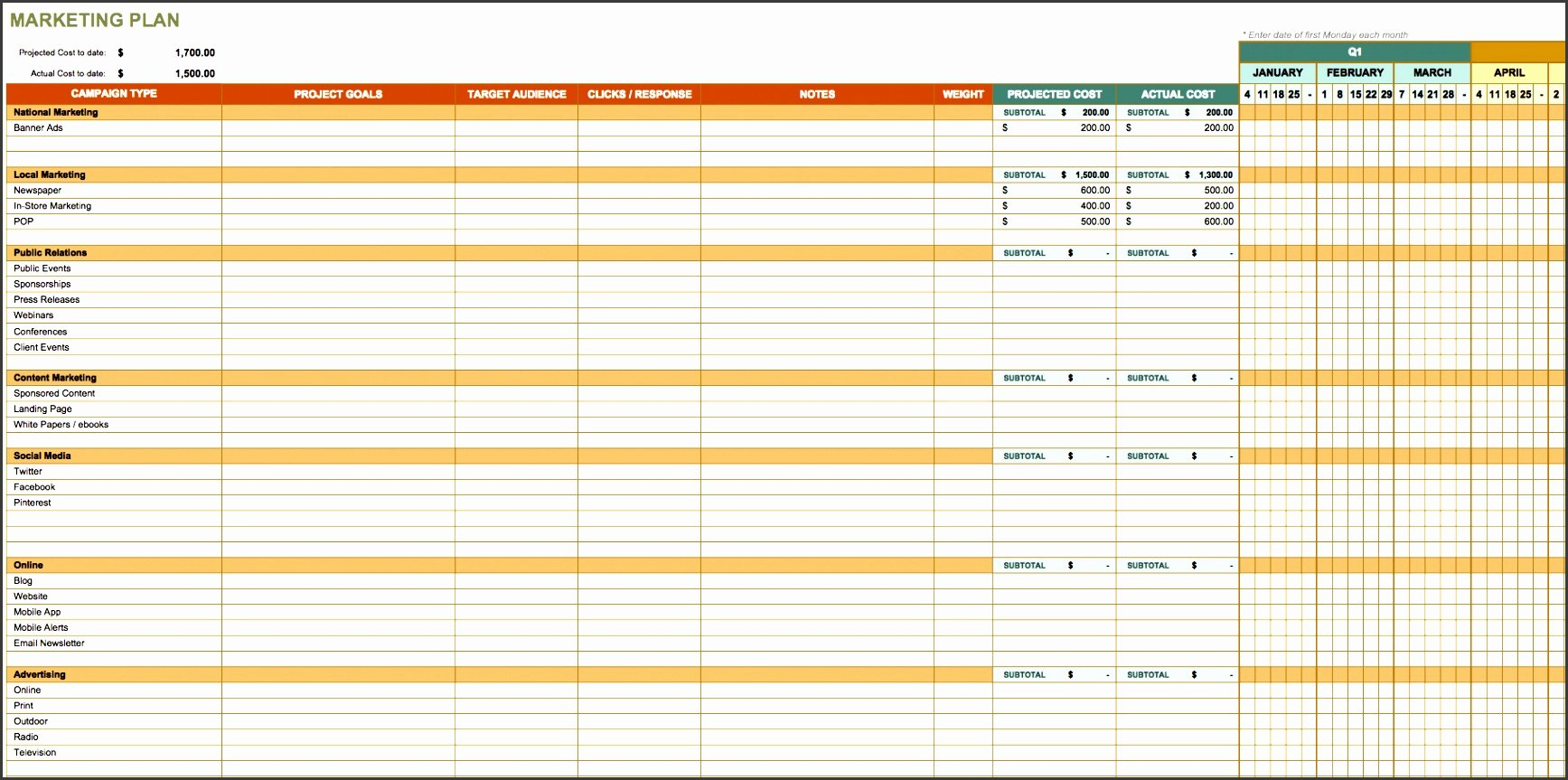 Action Planning Template Excel Awesome 4 Action Plan Template Excel Sampletemplatess