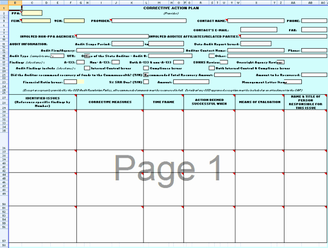 Action Planning Template Excel Luxury 21 Free Word & Excel Action Plan Templates Excel Word Pdf