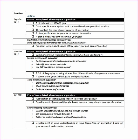 Action Planning Template Excel Unique 6 Project Action Plan Template Excel Exceltemplates