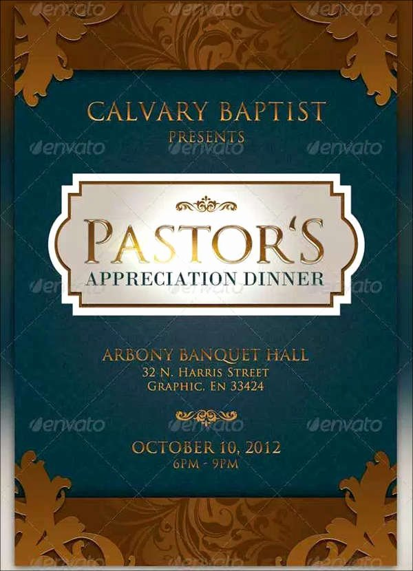 Appreciation Dinner Invitation Template Awesome 8 Appreciation Dinner Invitations Word Psd Ai