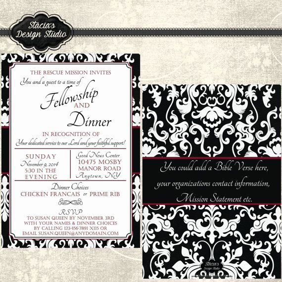 Appreciation Dinner Invitation Template Elegant 15 Best Invitations Images On Pinterest