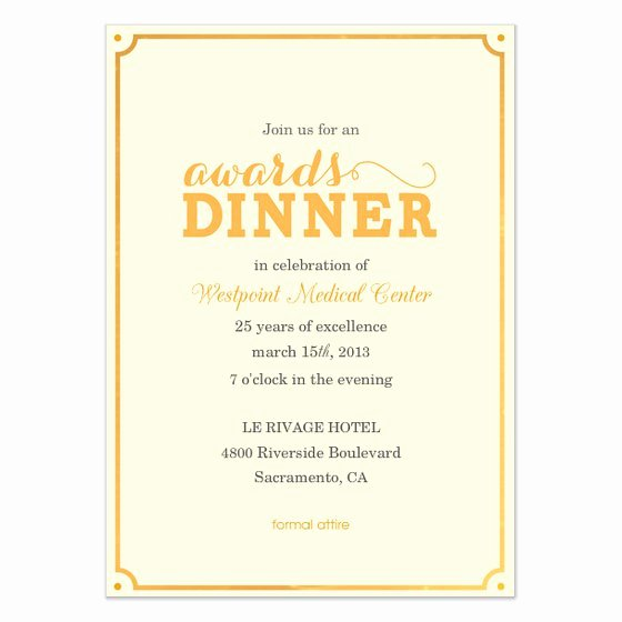 Appreciation Dinner Invitation Template Elegant Wording for Client Appreciation Dinner