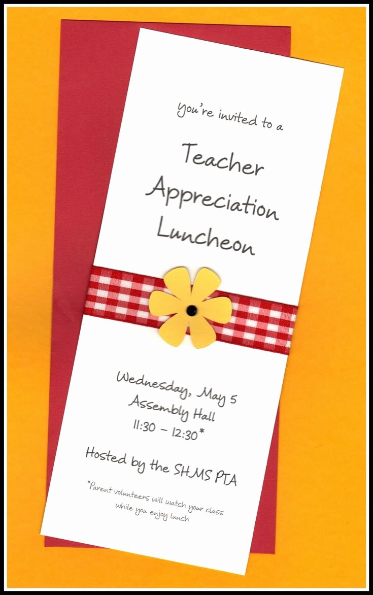 Appreciation Dinner Invitation Template Fresh Teacher Appreciation Invitation Wording Teacher