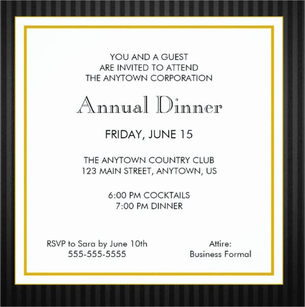 Appreciation Dinner Invitation Template Luxury 28 formal Dinner Invitations Psd Word Ai Publisher