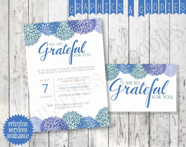 Appreciation Dinner Invitation Template New 11 Creative Thank You Invitation Designs & Templates