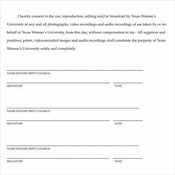 Artwork Release form Template Best Of 7 Print Release forms Pdf