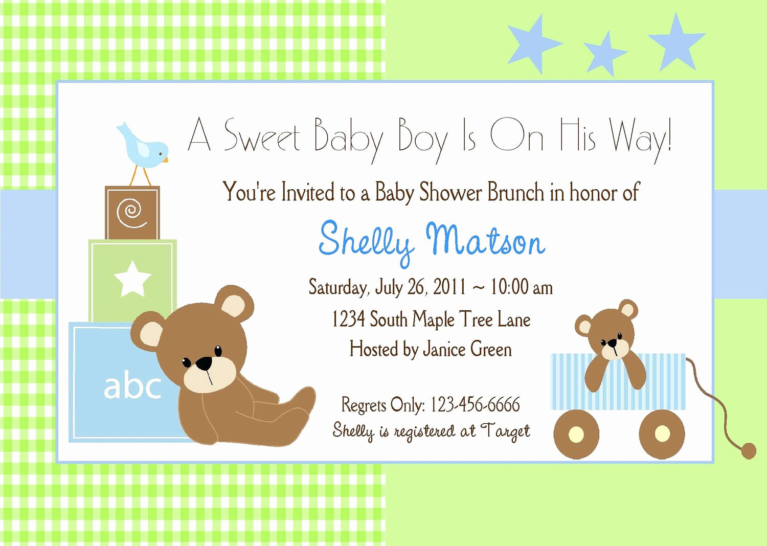 Baby Boy Invitation Template Awesome It S A Baby Boy Shower Invitations