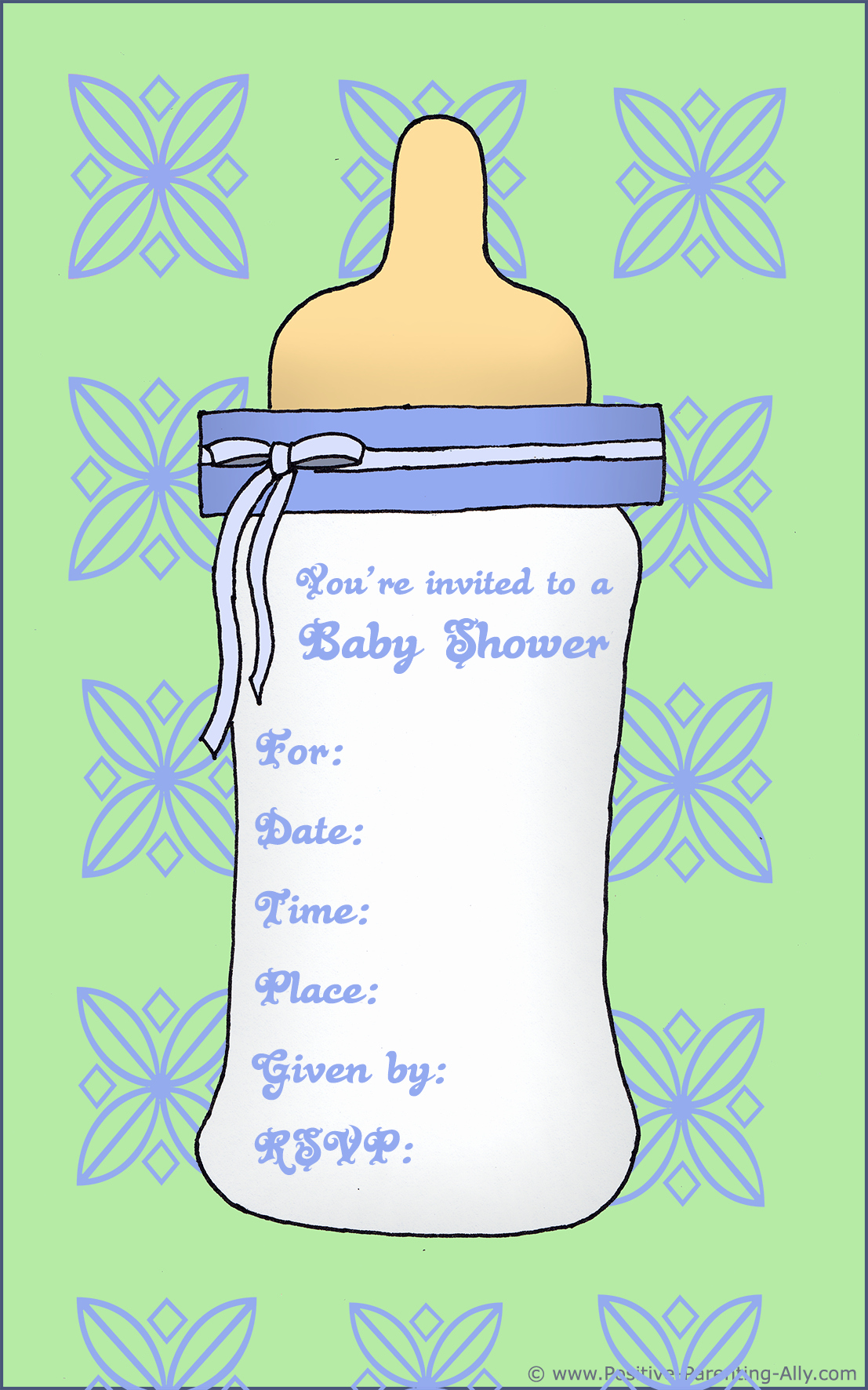 Baby Boy Invitation Template Best Of Free Printable Baby Shower Invitations In High Quality