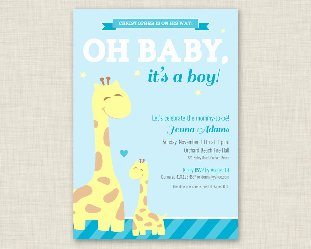 Baby Boy Invitation Template Luxury Baby Shower Invitations for Boys Free Templates Pink and