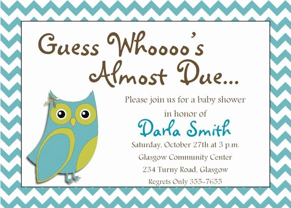 Baby Boy Invitation Template New Items Similar to It S A Boy Printable Owl Baby Shower