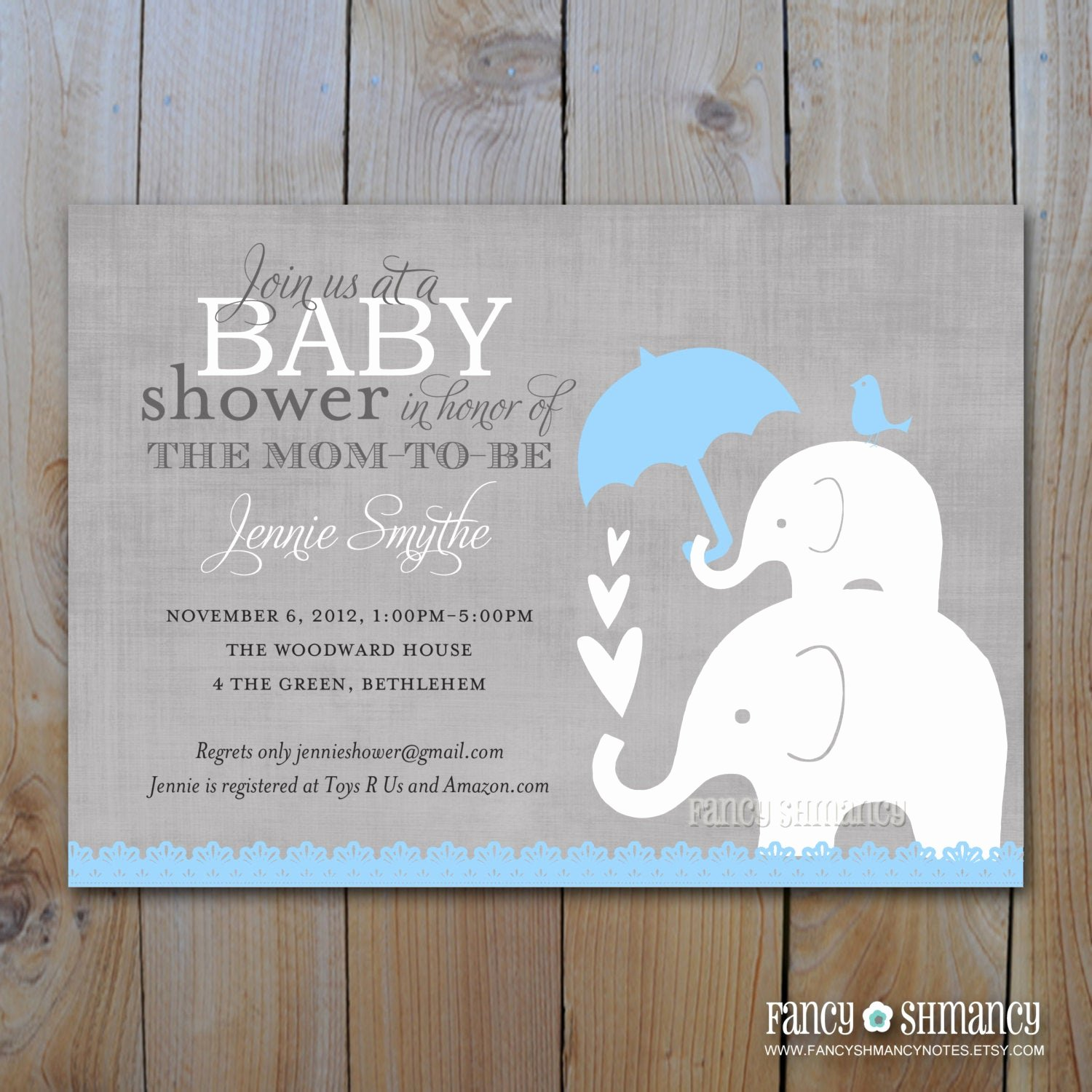 Baby Shower Invitation Free Template Best Of Elephant Baby Shower Invitation Printable Baby Boy Shower