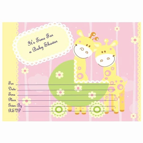 Baby Shower Invitation Free Template Elegant where to Find Free Printable Baby Shower Invitations