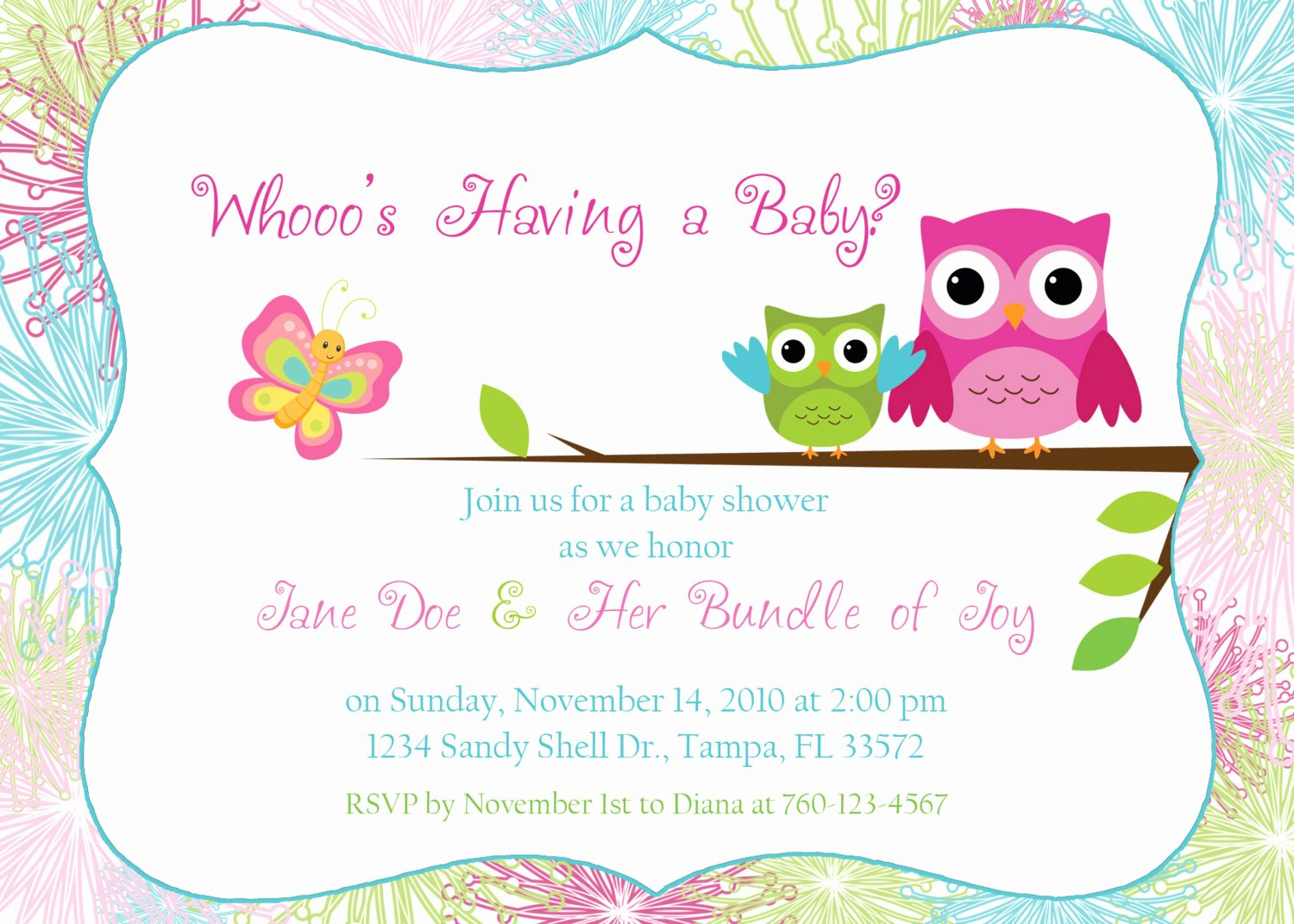 Baby Shower Invitation Free Template Luxury Editable Baby Shower Invitation Templates