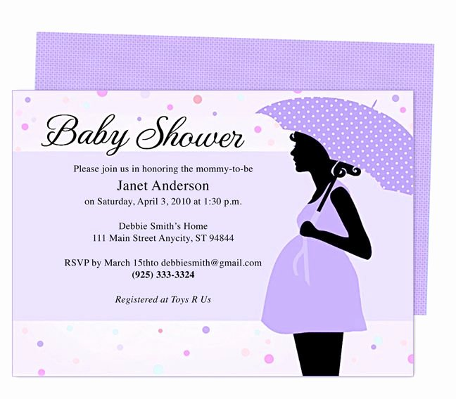 Baby Shower Invitation Free Template New 42 Best Baby Shower Invitation Templates Images On Pinterest