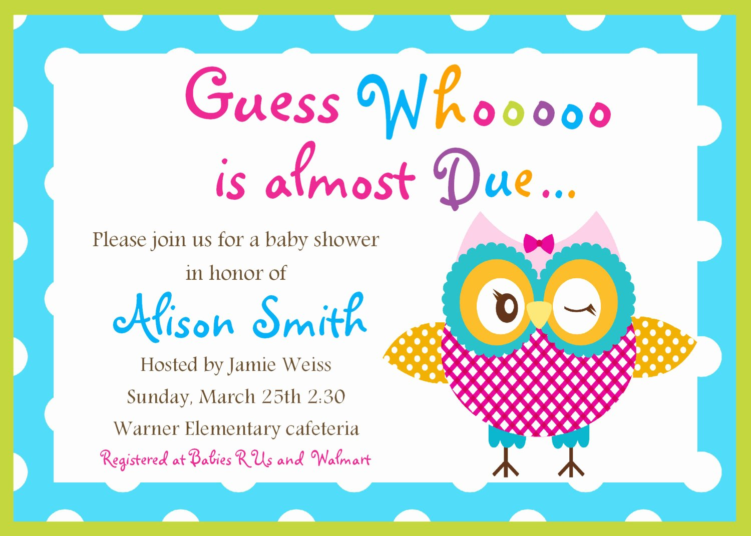 Baby Shower Invitation Free Template Unique Free Printable Baby Shower Cards