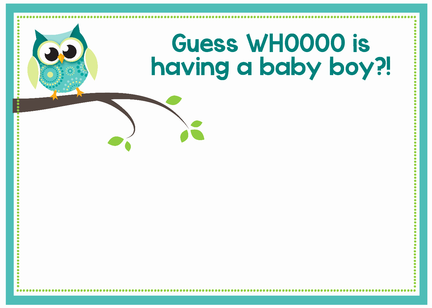 Baby Shower Invitation Template Free Awesome Free Printable Owl Baby Shower Invitations & Other