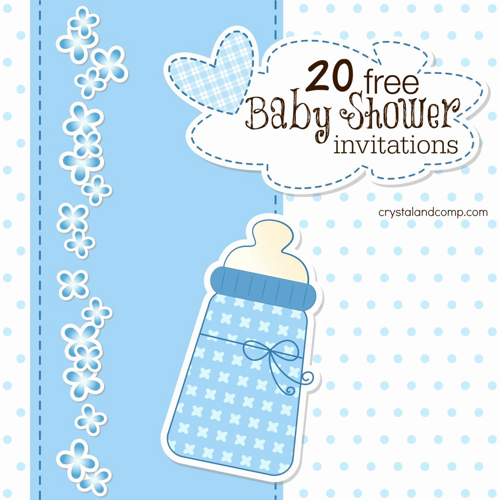 Baby Shower Invitation Template Free New Printable Baby Shower Invitations