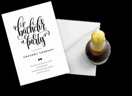 Bachelor Party Invites Template Awesome Bachelor Party Invitation Templates Free