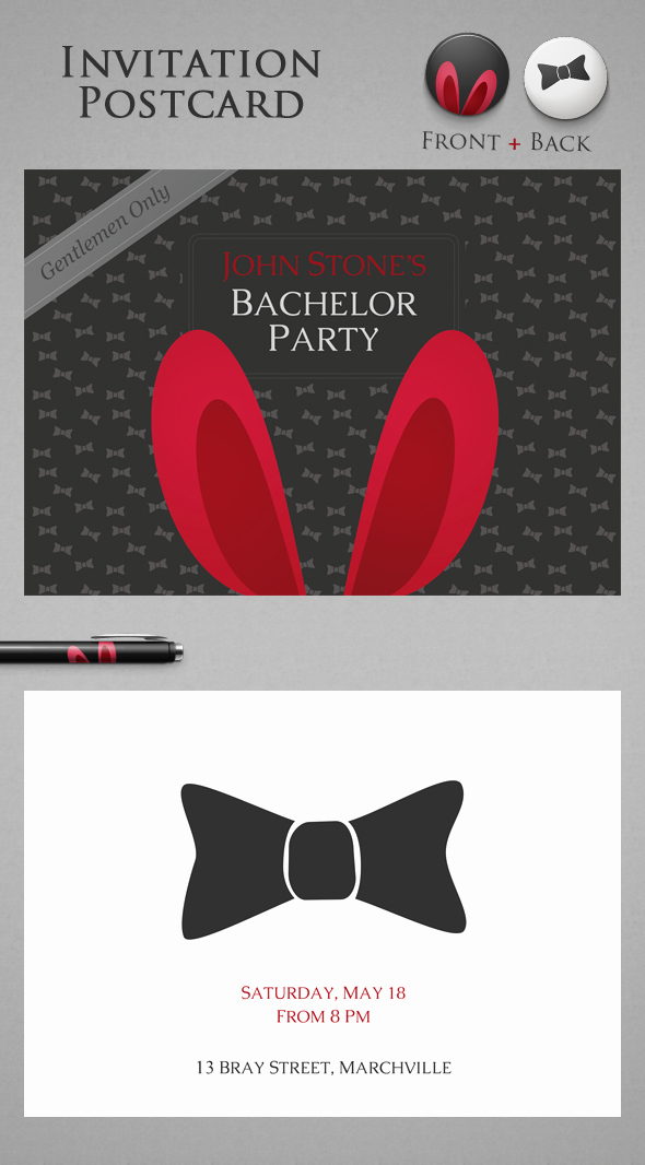 Bachelor Party Invites Template Best Of Free Bachelor Party Invitation On Behance