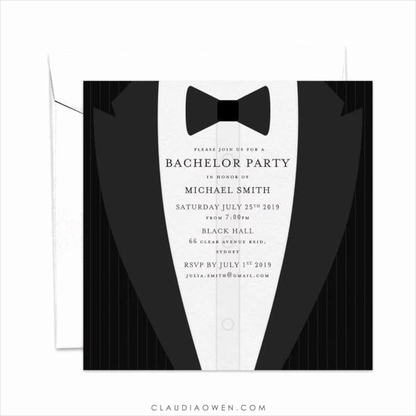 Bachelor Party Invites Template New 12 Bachelor Party Invitation Designs & Templates Psd