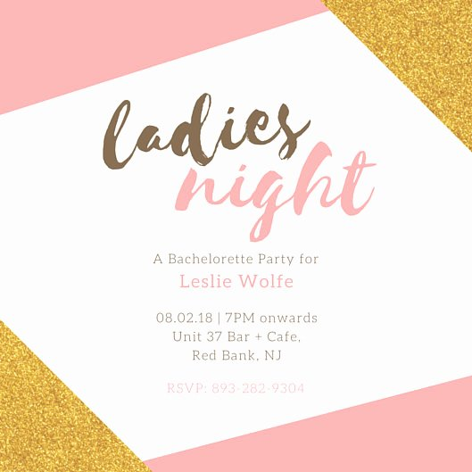 Bachelorette Party Invitation Template Free Beautiful Bachelorette Party Invitation Templates Canva