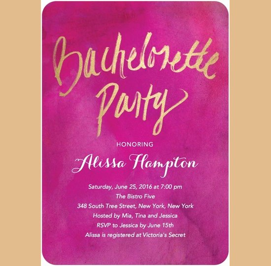 Bachelorette Party Invitation Template Free Fresh Bachelorette Invitation Template – 35 Free Psd Vector