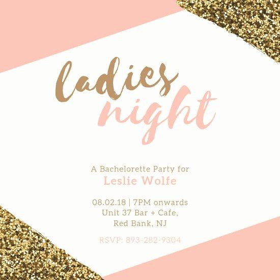 Bachelorette Party Invitation Template Free Fresh Customize 85 Bachelorette Party Invitation Templates