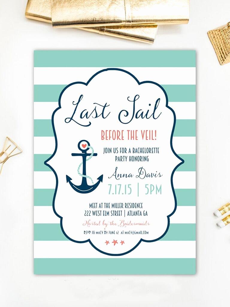 Bachelorette Party Invitation Template Free Inspirational 14 Printable Bachelorette Party Invitation Templates