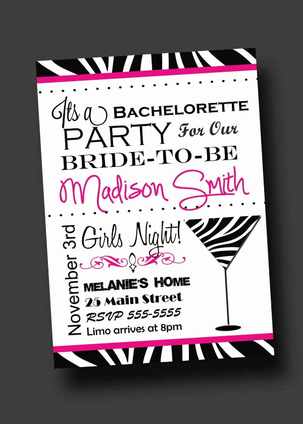 Bachelorette Party Invitation Template Free Lovely 12 Bachelorette Party Invitations Psd Ai Vector Eps