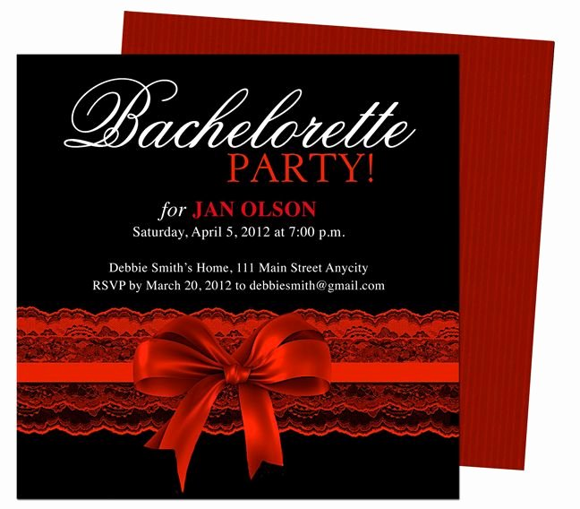 Bachelorette Party Invitations Template Free Fresh Pin On Ideas I Might Try