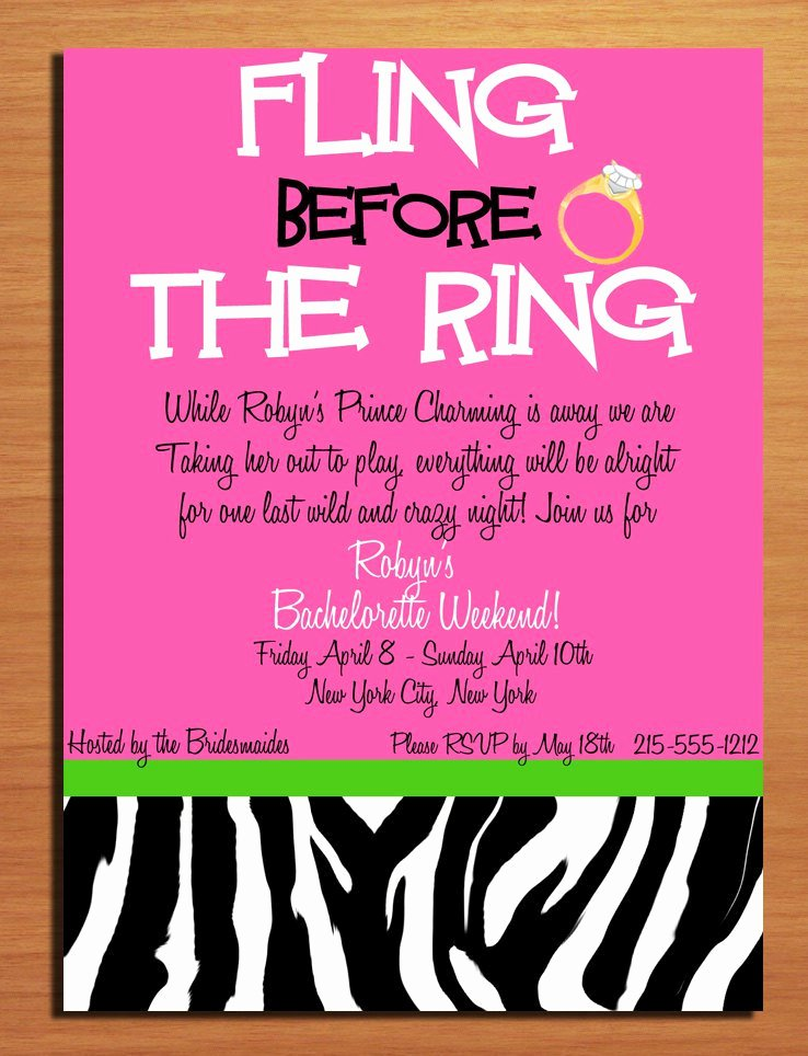 Bachelorette Party Invitations Template Free Luxury Bachelorette Party Printable Templates Free