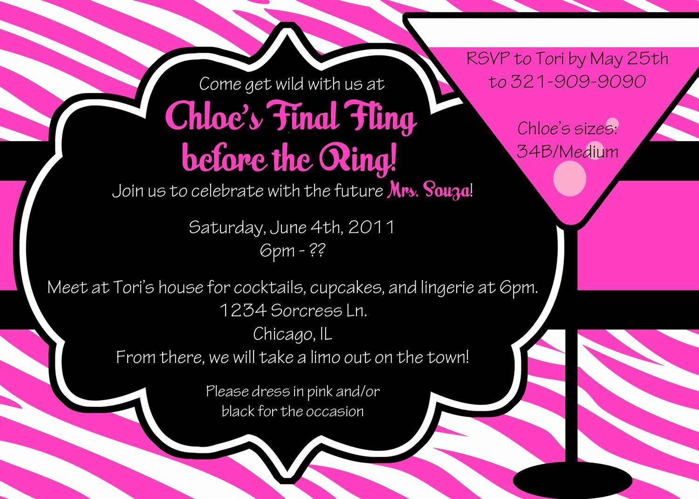 Bachelorette Party Invite Template Free Best Of Bachelorette Party Invites Templates